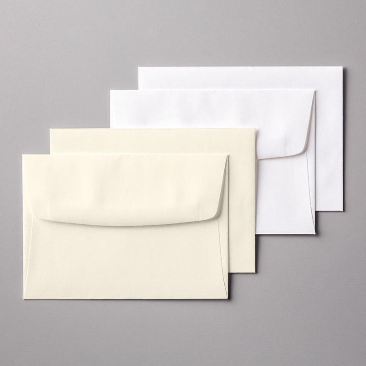 131527 Cartes et Enveloppes Murmure Blanc
