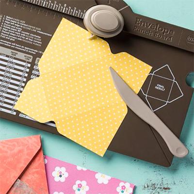 Planche Insta Enveloppe ou Enveloppe Punch Board